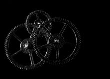 Old cogwheel Stock Photo