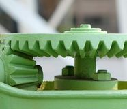 Old Cogwheel Gears Stock Images