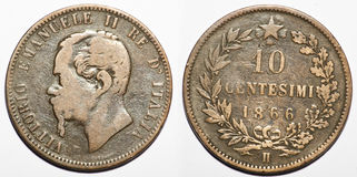 Old coin Royalty Free Stock Images