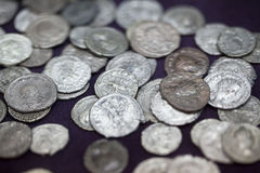 Old coin Royalty Free Stock Image