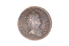 Old coin Stock Photo