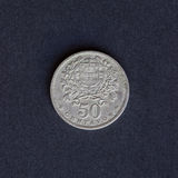 Old coin 50 cents Royalty Free Stock Image