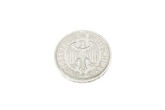 Old Coin of Germany 1978 Stock Images