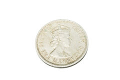 Old Coin of Hong Kong 1960 Stock Photo