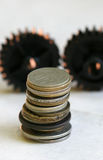 Old  coins Royalty Free Stock Photos