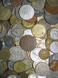 Old different coins Royalty Free Stock Photography