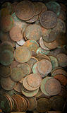 Old coins background Royalty Free Stock Images