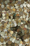 Old coins background Stock Images