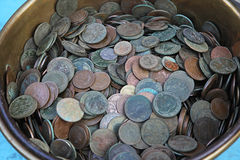 Old coins Royalty Free Stock Images