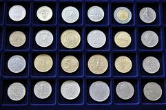 Old coins Stock Photo