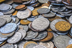 Old coins 2 Royalty Free Stock Photos