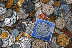 Old coins 1 Royalty Free Stock Photography
