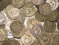 Old coins. The dream of every numismatist - this old coins Royalty Free Stock Photography