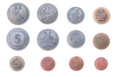 Old coins of the Germany Royalty Free Stock Images