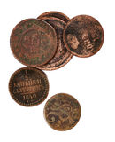 Old coins Stock Image