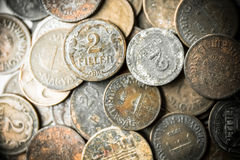 Old coins Royalty Free Stock Image