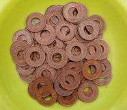 Old coins. Selection of indian old vintage coins Royalty Free Stock Photography