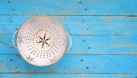 Old Colander, Royalty Free Stock Images
