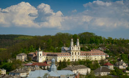 Old collegium in Buchach Royalty Free Stock Image
