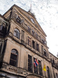 Old colonial art building in Bangkok Royalty Free Stock Photo