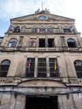 Old colonial art building in Bangkok Royalty Free Stock Images