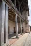 Old colonial building in Portobelo Royalty Free Stock Photo