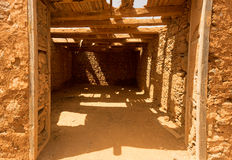 Old colonial buildings  Casa de los Coroneles in  La Oliva on Fu Royalty Free Stock Photos