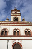 Old colonial church in Trujillo, Peru Royalty Free Stock Photography