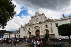 Old colonial city of Antigua, Guatemala Royalty Free Stock Image