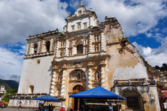 Old colonial city of Antigua, Guatemala Royalty Free Stock Images