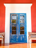 Old colonial door Royalty Free Stock Photos