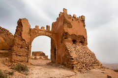 Old colonial fort in Morocco Stock Images