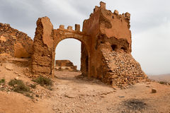 Old colonial fort in Morocco Stock Photography