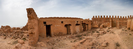Old colonial fort in Morocco Royalty Free Stock Image