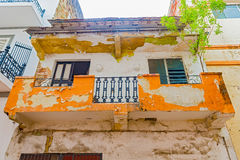 Old colonial house in Casco Viejo in Panama City Royalty Free Stock Photos