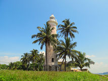 Old colonial lighthouse in Fort Galle, Sri-Lanka Stock Photography