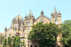 Old colonial style building around mumbai india Stock Photography