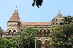 Old colonial style building mumbai india Royalty Free Stock Image
