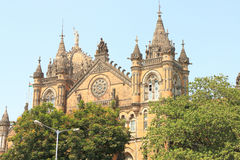 Old colonial style building in mumbai india Stock Image