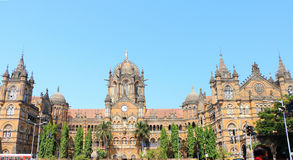 Old colonial style building mumbai india Royalty Free Stock Images