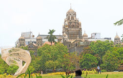 An old colonial style building mumbai india Stock Image