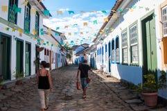Old colonial town of Paraty, Rio de Janeiro, Brazil Stock Photography