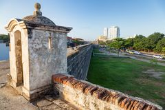 Old colonial turret Royalty Free Stock Photos