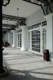 Old Colonial Verandah Stock Photo