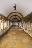 Old colonnade in the Fishermen's Bastion, Budapest Stock Photo