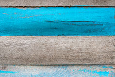 Old color hardwood plank Royalty Free Stock Photography
