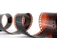 Old color negative film Stock Image