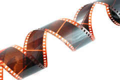 Old color negative film Royalty Free Stock Photography