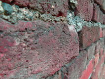 Old color wall of bricks Stock Photos