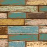 Old color wooden texture background. Royalty Free Stock Image